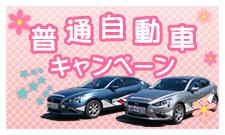 普通自動車キャンペーン